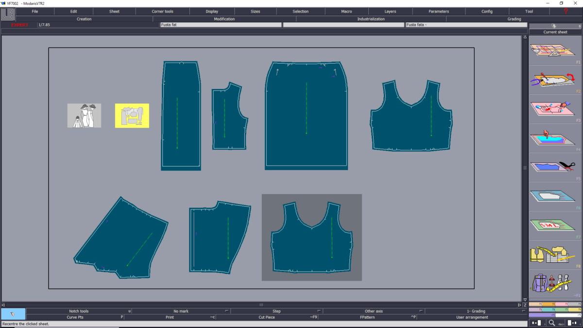 Beginner Sewing Patterns | Cad Patterns - Fashion Design